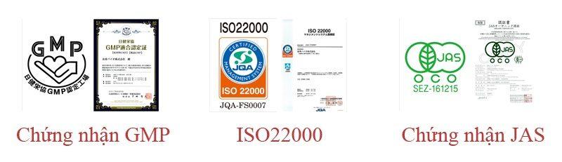Phương pháp sản xuất Super Fucoidan đạt tiêu chuẩn ISO 22000