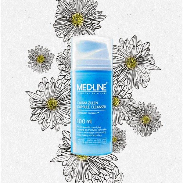 mỹ phẩm Rửa Mặt Medline Calmazulen Capsule Cleanser