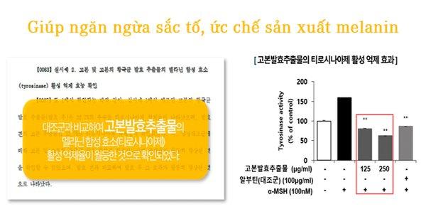 tinh chất Medline Gaoben F Cream Hàn Quốc