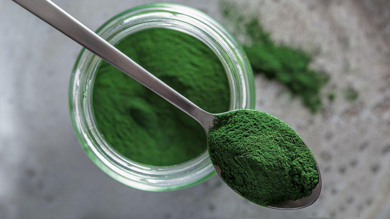 Món ăn vặt giảm cân tảo spirulina