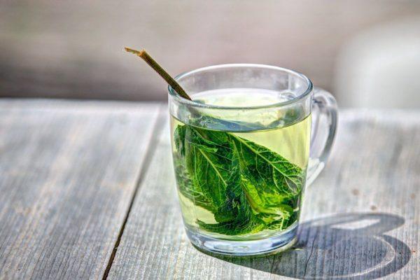 Món ăn vặt giảm cân trà xanh