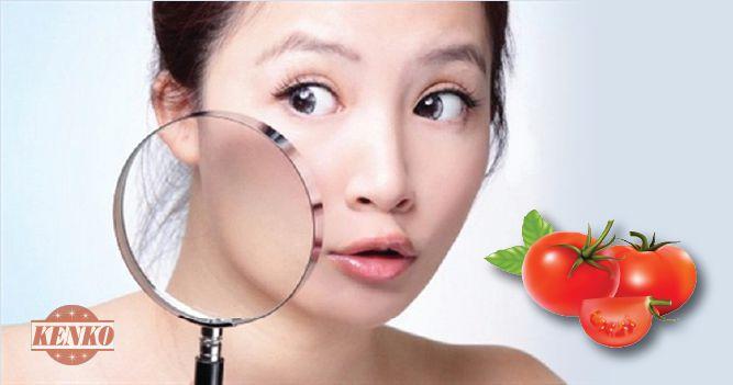 Se khít lỗ chân lông với cà chua