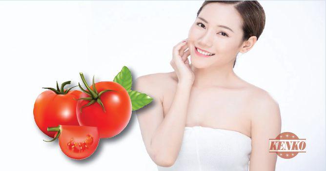 cà chua giúp làm giảm tác dụng của cháy nắng