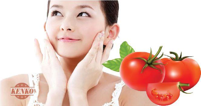 Làm giảm sạm da với cà chua