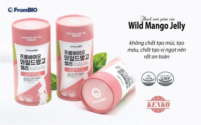 Thạch xoài giảm cân FromBio Wild Mango Jelly 300g có tốt không