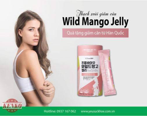 Thạch xoài giảm cân FromBio Wild Mango Jelly 300g