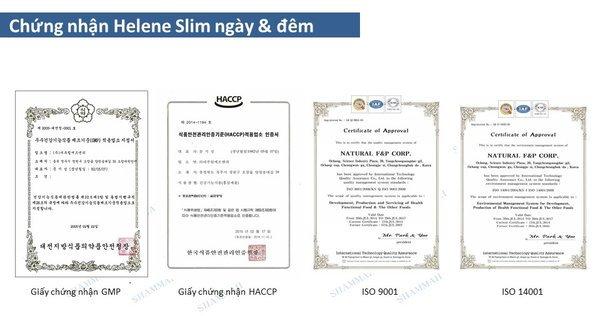Bộ Giảm Cân Ngày Và Đêm Helene Slim Jelly & Tablet Diet