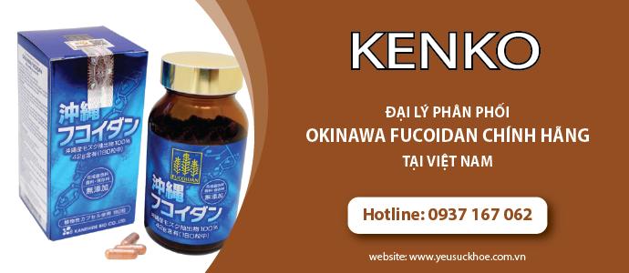Okinawa fucoidan chính hãng kenko