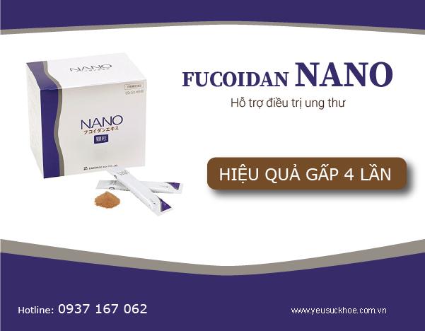 Fucoidan nano hiệu quả gấp 4 lần