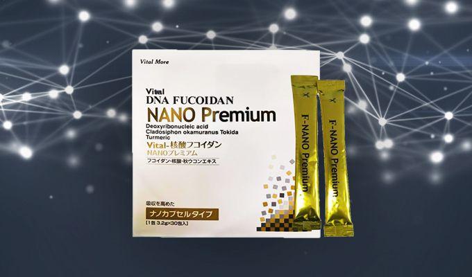 Vital DNA Fucoidan Nano Premium – Hỗ trợ miễn dịch